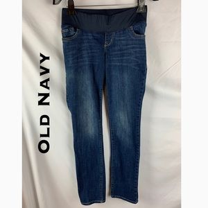 🆕 Old Navy Straight Leg Maternity Jeans